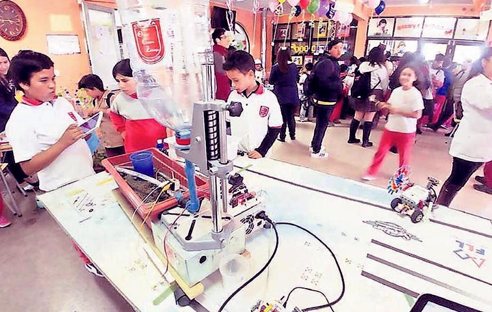 Seminario de Informática Educativa: Estudiantes municipales de Concepción mostraron exitosos proyectos.